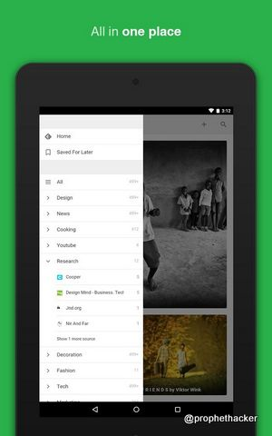 Feedly - All Website News at One Place