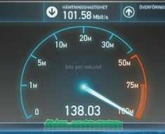 High Speed Internet in Android