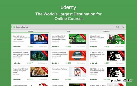 Udemy Android App