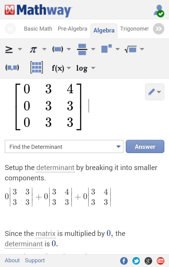 Mathway Android App