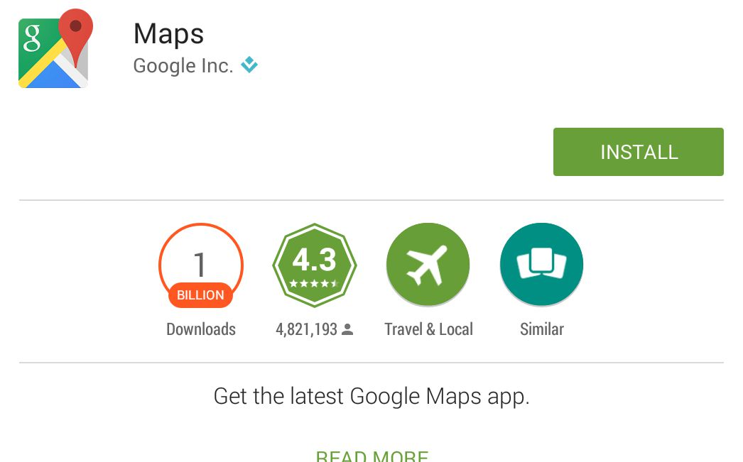 how to open google maps on google app html