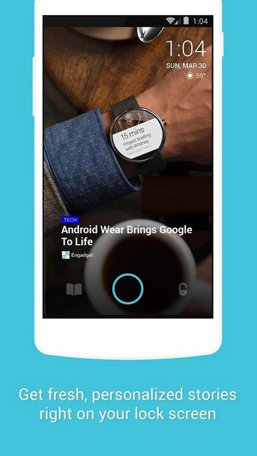 Browse News with Locket Lockscreen