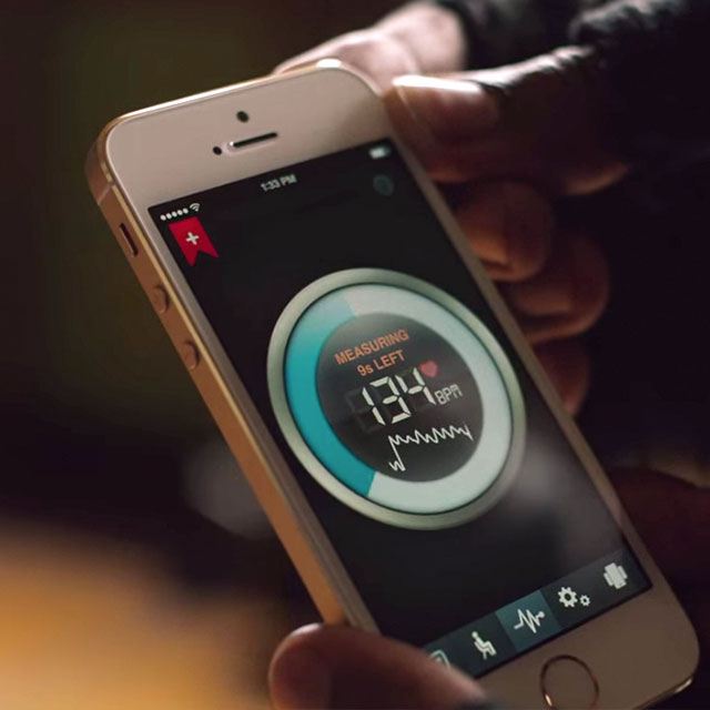 Instant Heart Rate Monitor App for iPhone and Android