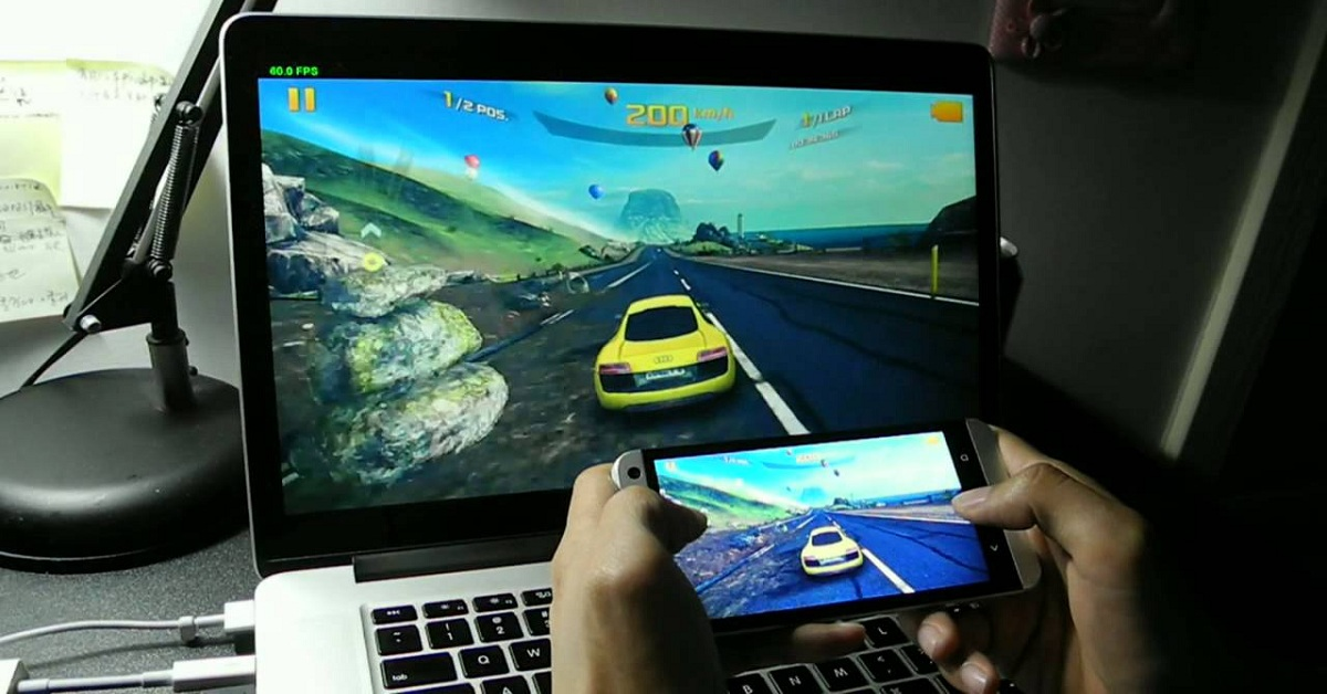 Mirror Android Screen to Window PC
