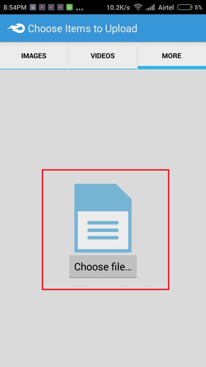 How to Share Any Format Files APK, PDF, ZIP with Whatsapp ...