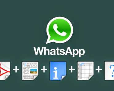 Share Any Format File With Your Whatsapp Groups and Contacts