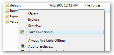46 – Take Ownership of All Files in Windows including system files ...
