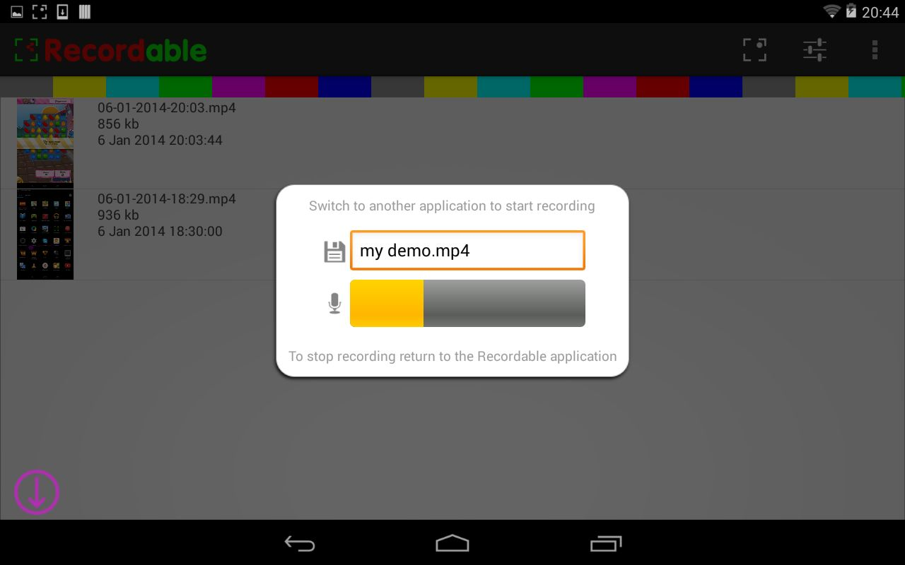 Record Android Mobile Screen