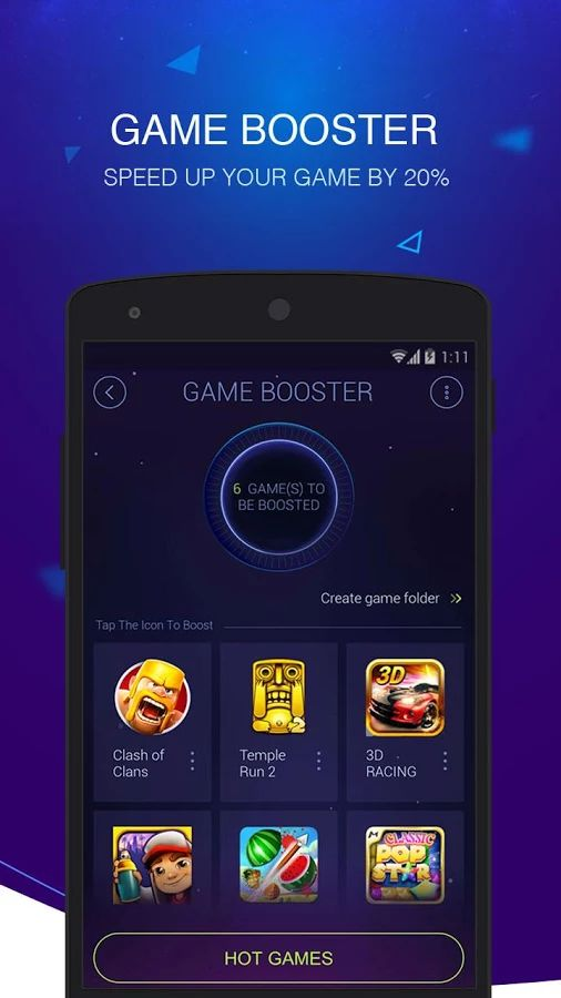 Game Booster for Android Games
