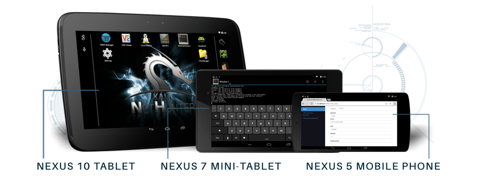 Nethunter for Running Linux OS in Android Mobile