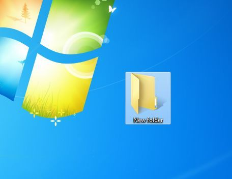 Make a New Folder Godname