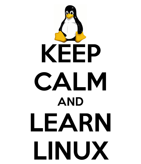 Keep Calm and Learn Linux