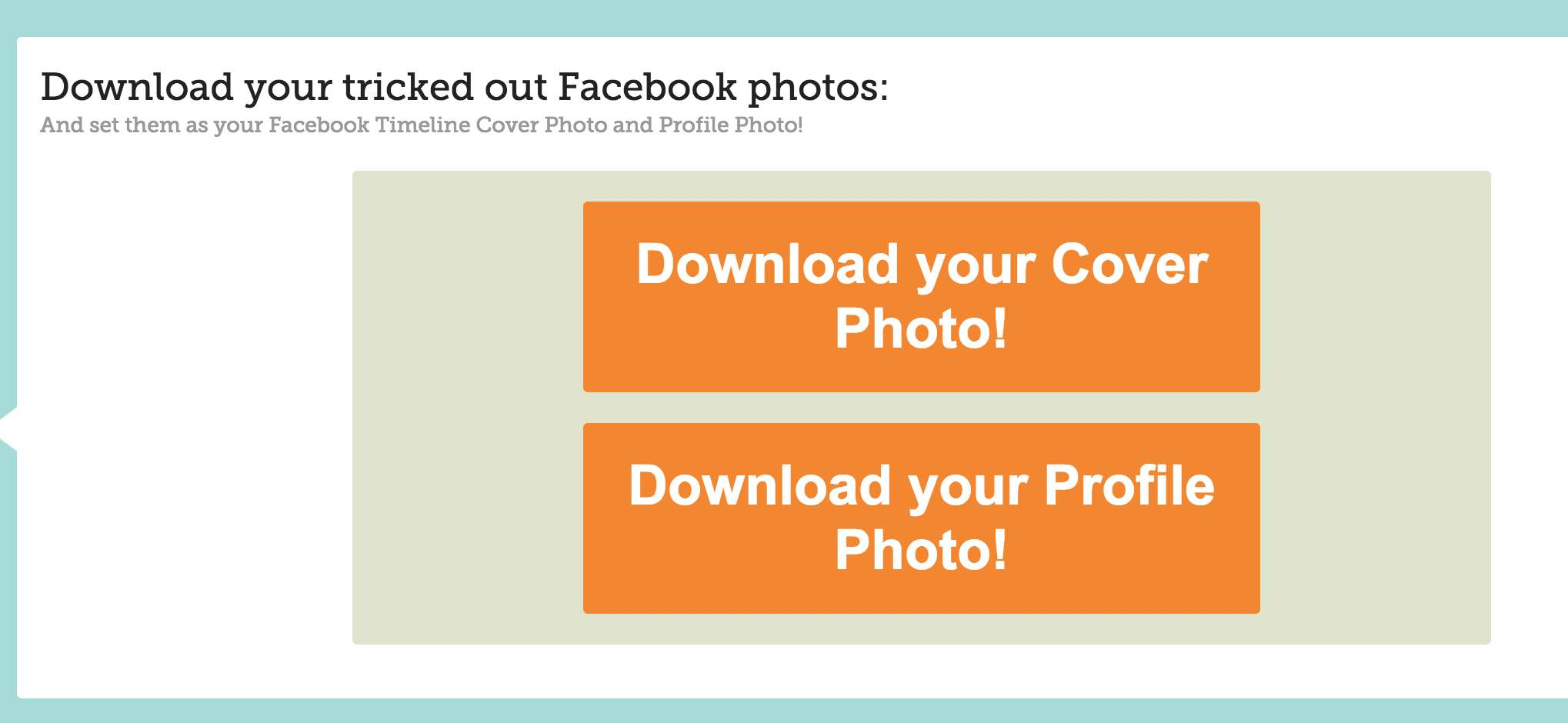 Download Combine Facebook Cover with Profile Picture