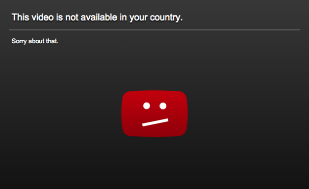 Bypass Country Restrictions in Youtube