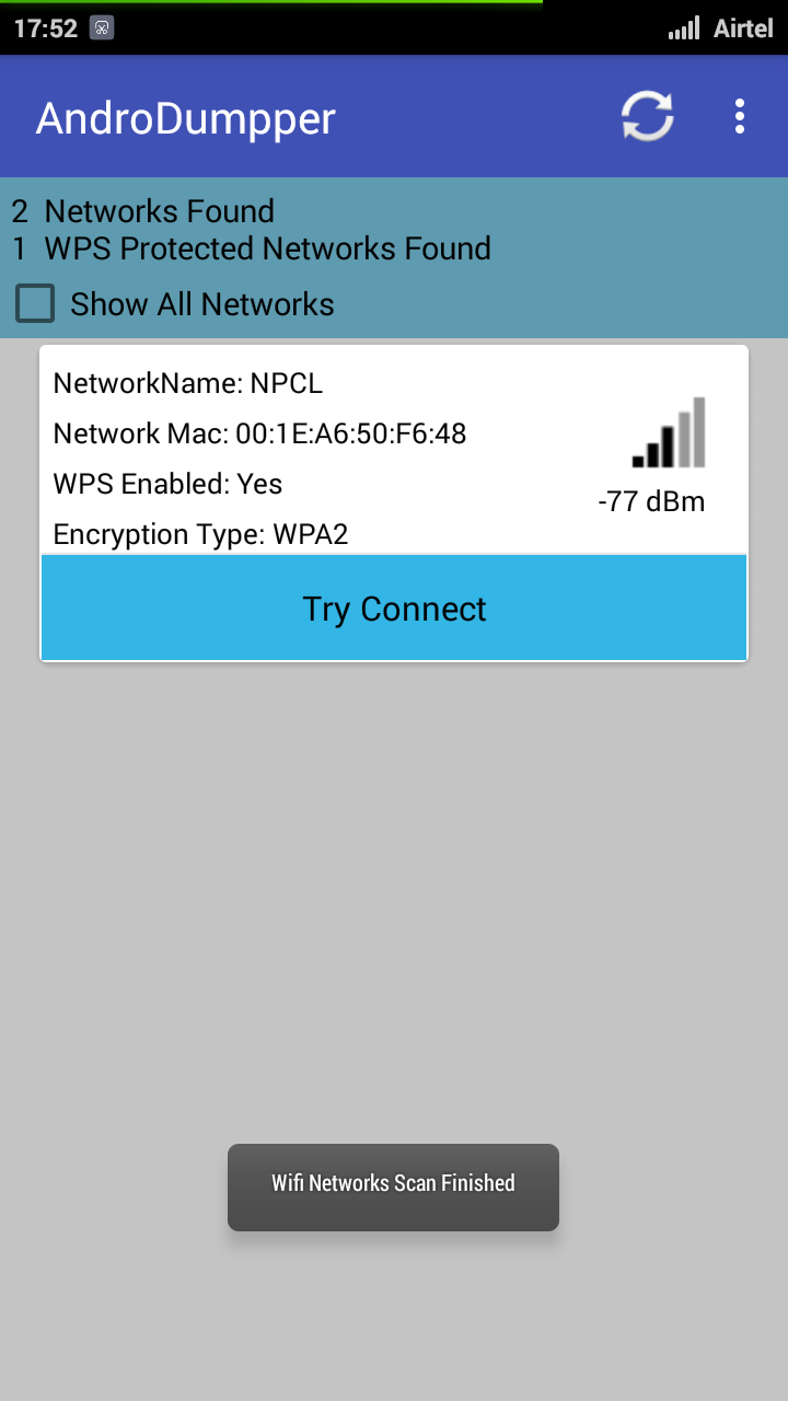 AndroDumpper WiFi Hacking App