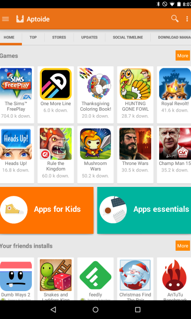 Aptoide- Download Android Apps