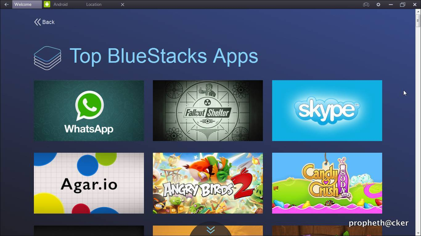 how to change wallpaper on bluestacks