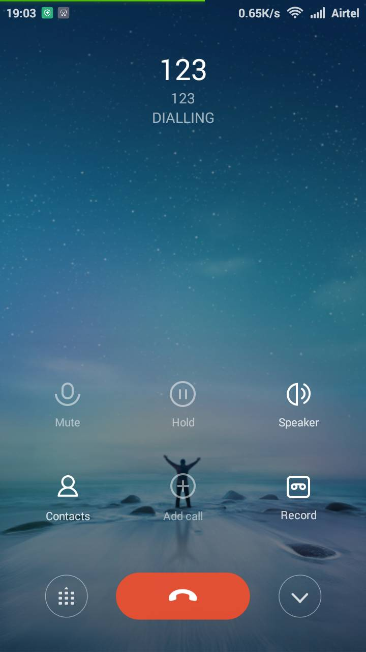 Inbuilt Call Recorder in Redmi Phone