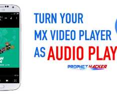 Mx Player as Audio Player