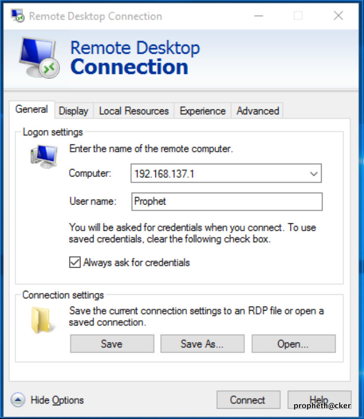 Enable, disable, use remote desktop connection in windows 10.