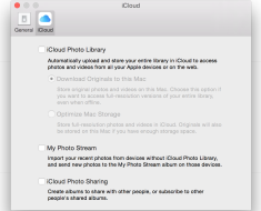 Stop Syncing Photos in iCloud