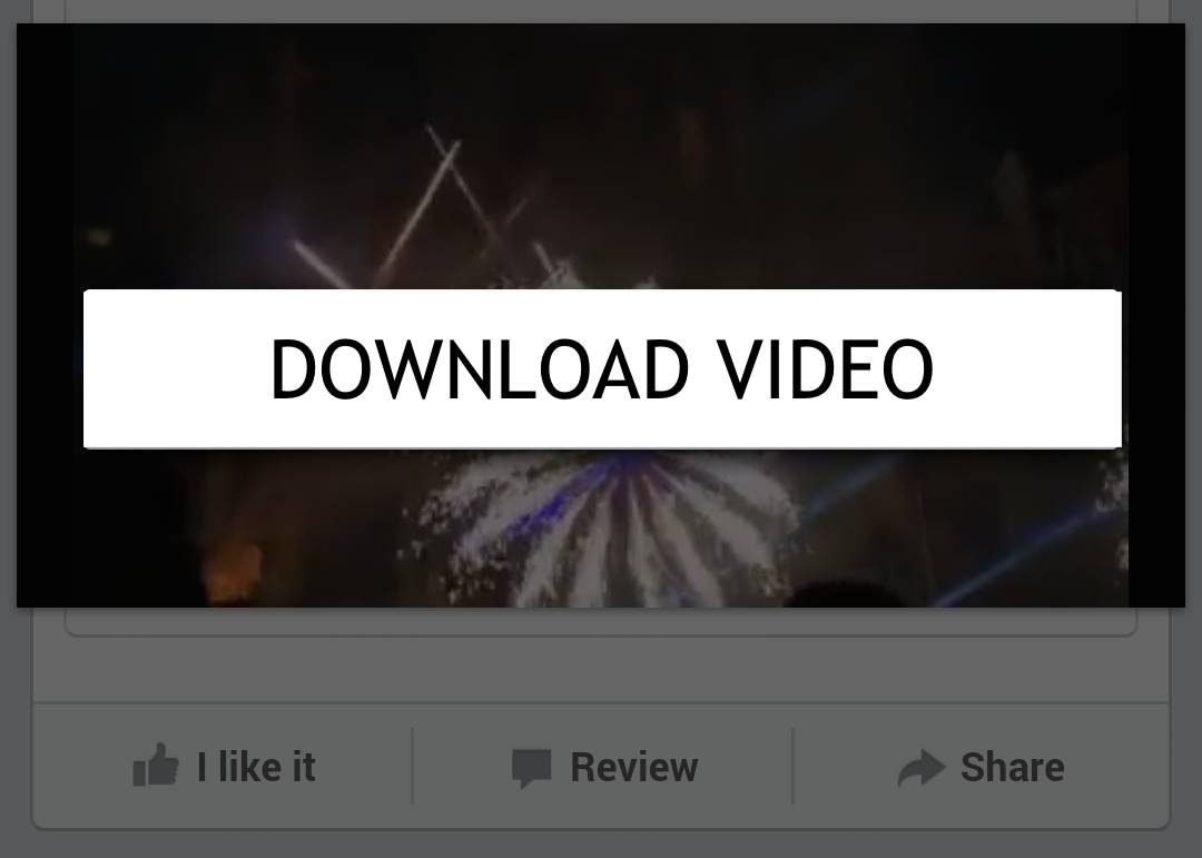 Download Facebook Video in Android