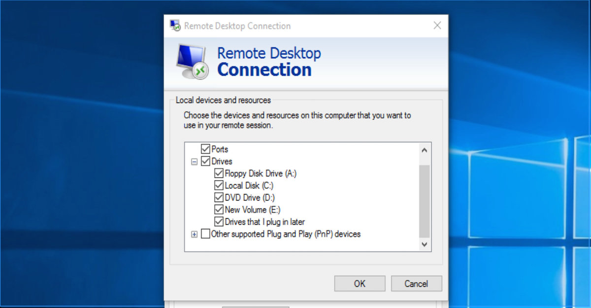 How to Forward Drive on Remote Computer