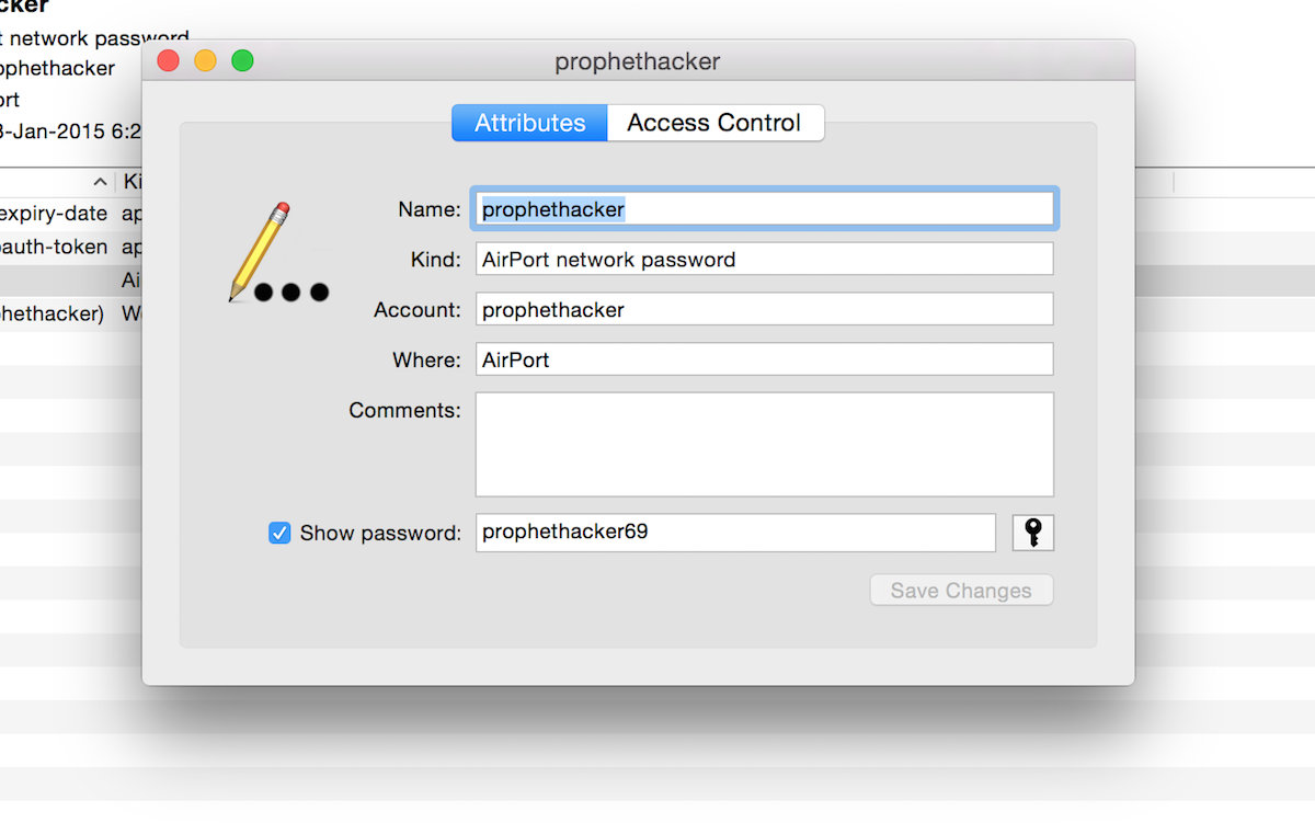 How to Recover a Forgotten WiFi-Password in Mac OS X