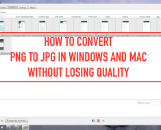 How to Convert PNG to JPG In Mac and Windows Without Losing Quality