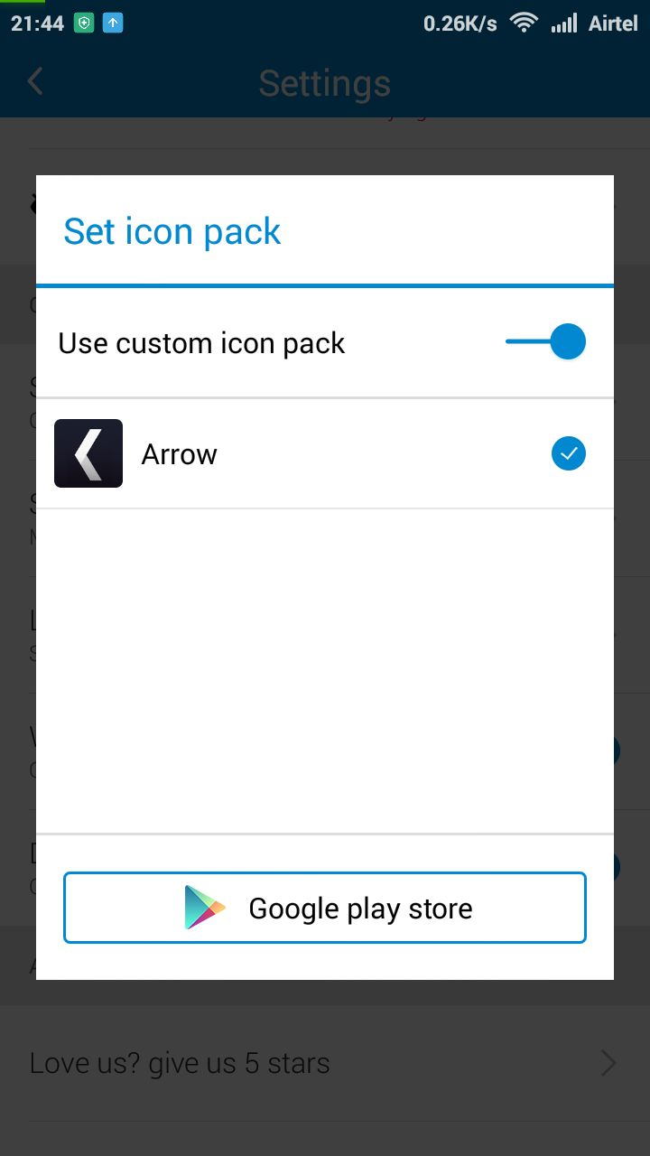 Arrow Custom Icon Pack