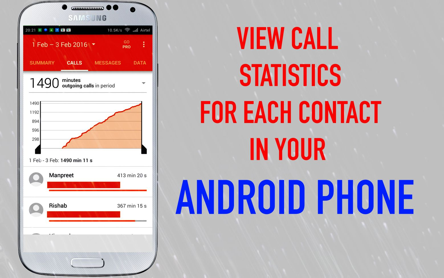 How to View Call Statistics for Each Contact on your Android Phone