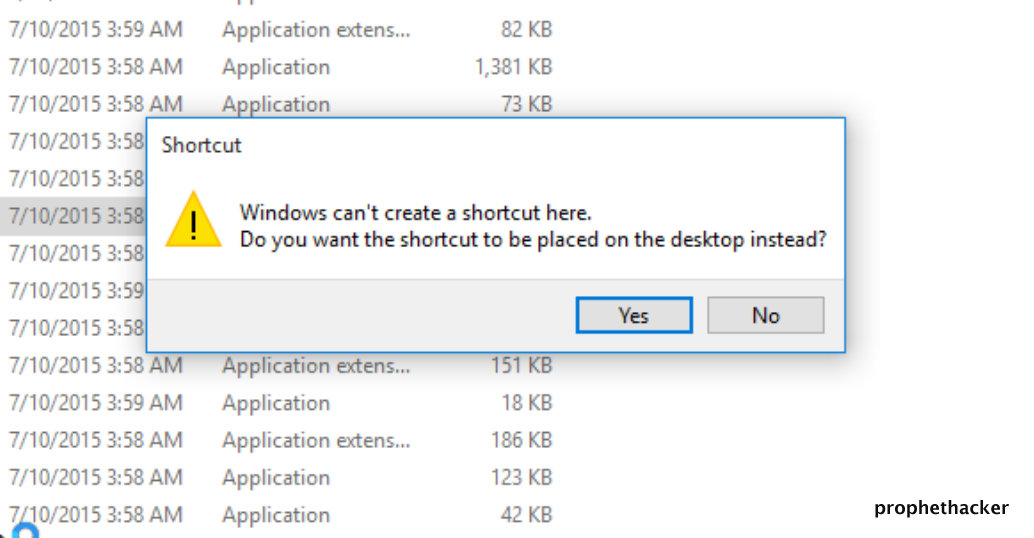 Open Registry Editor in Windows from Creating Desktop Shortcut