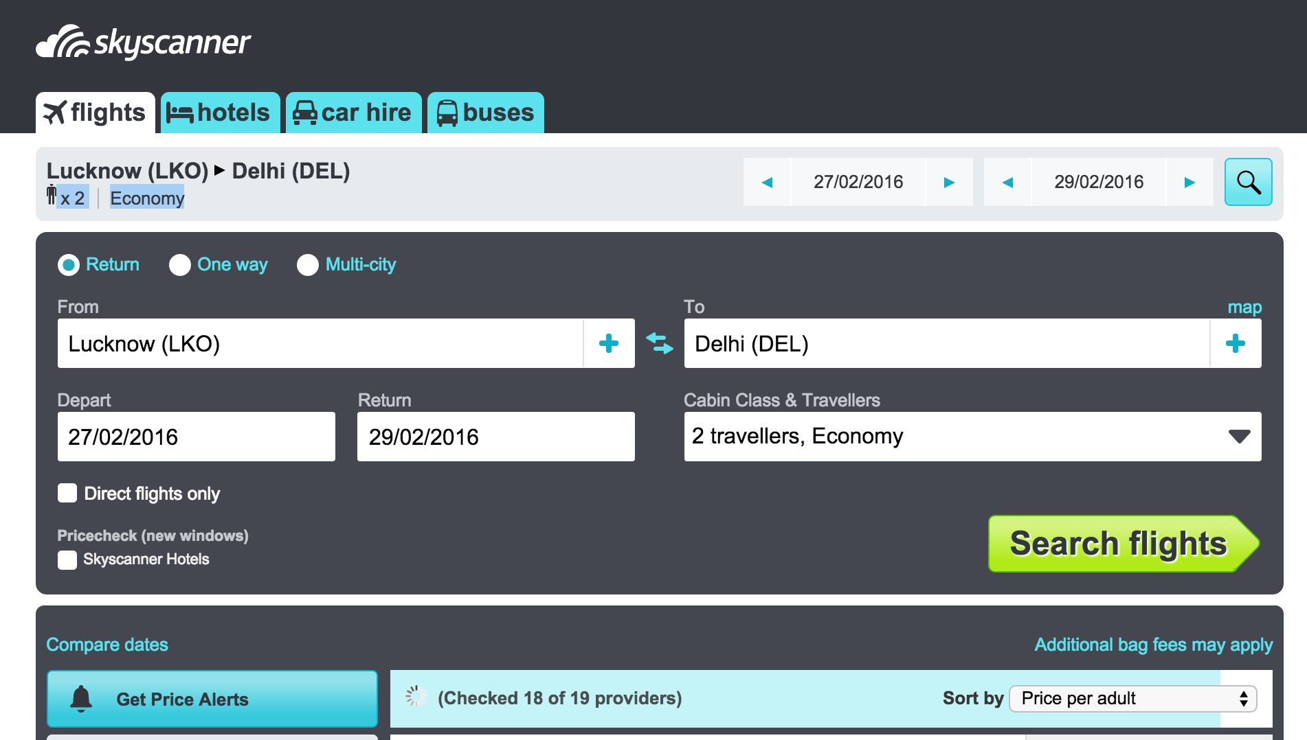 Skyscanner- Find Cheapest Flights