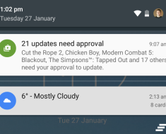 Backup Android Notifications