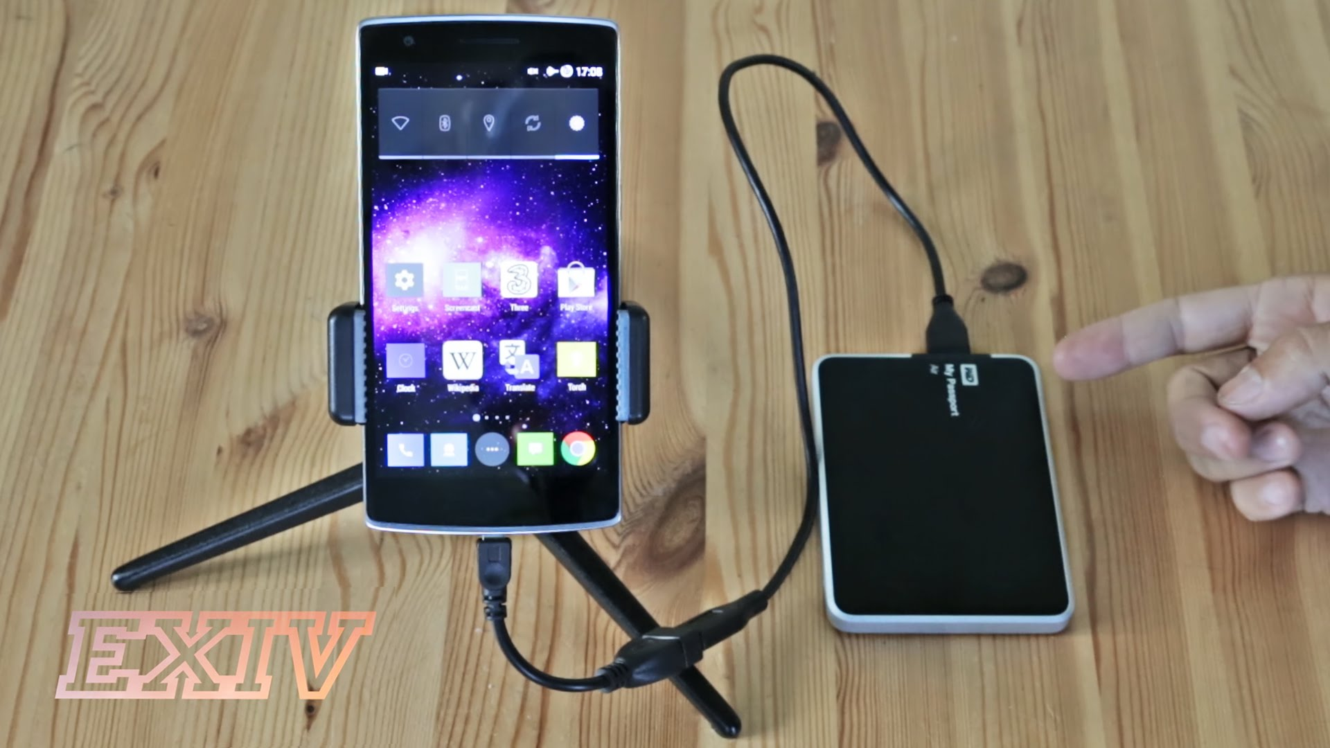 Connect HDD with Android Mobile