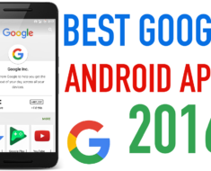 Google Android APPS 2016