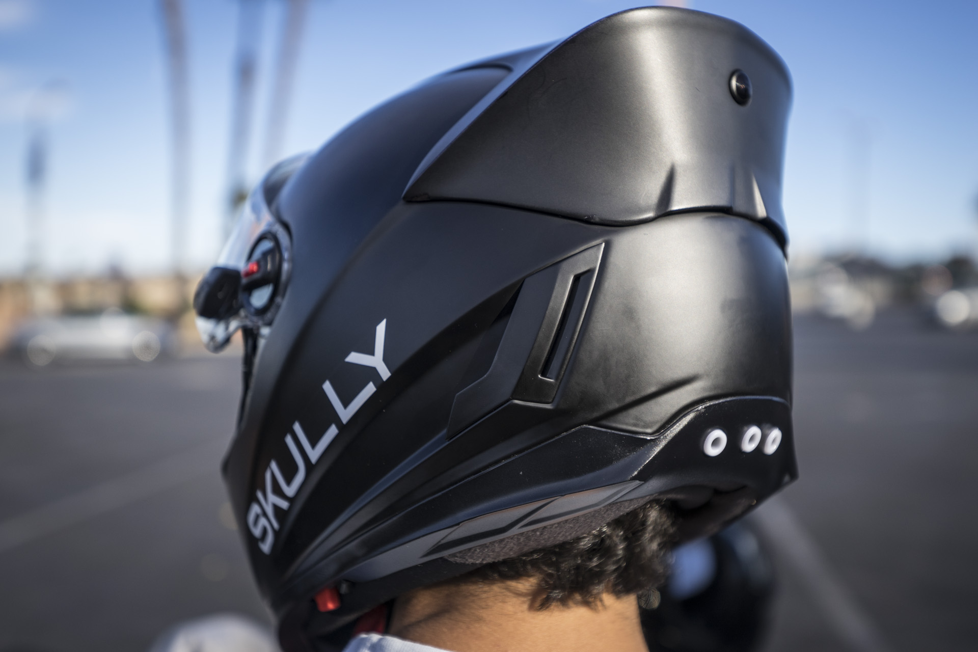Skully Tech Helmet