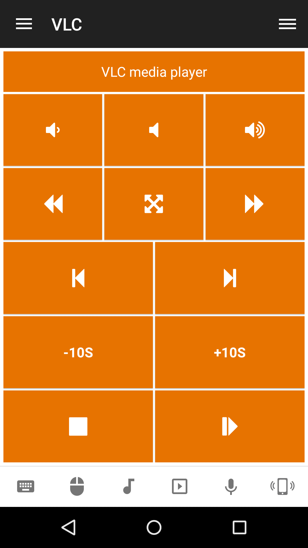 Control VLC Media from Android
