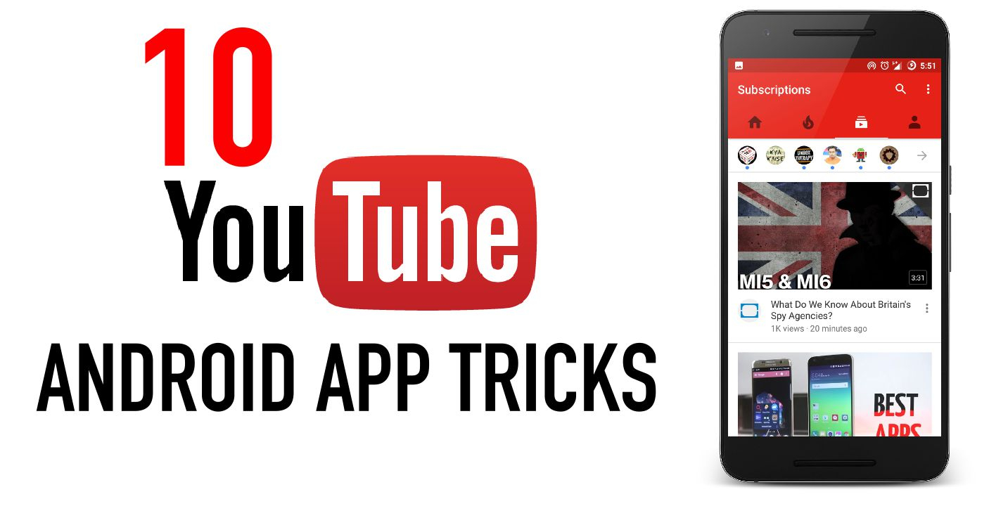 Youtube Android App Tricks