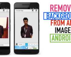 Remove Background from any Image in Android Mobile