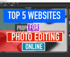 Top 5 Best Free Online Photo Editing Website