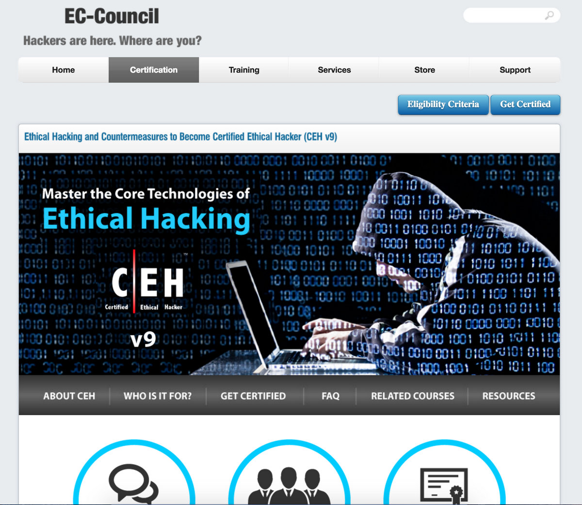 EC Council- Online Ethical Hacking Certification Course