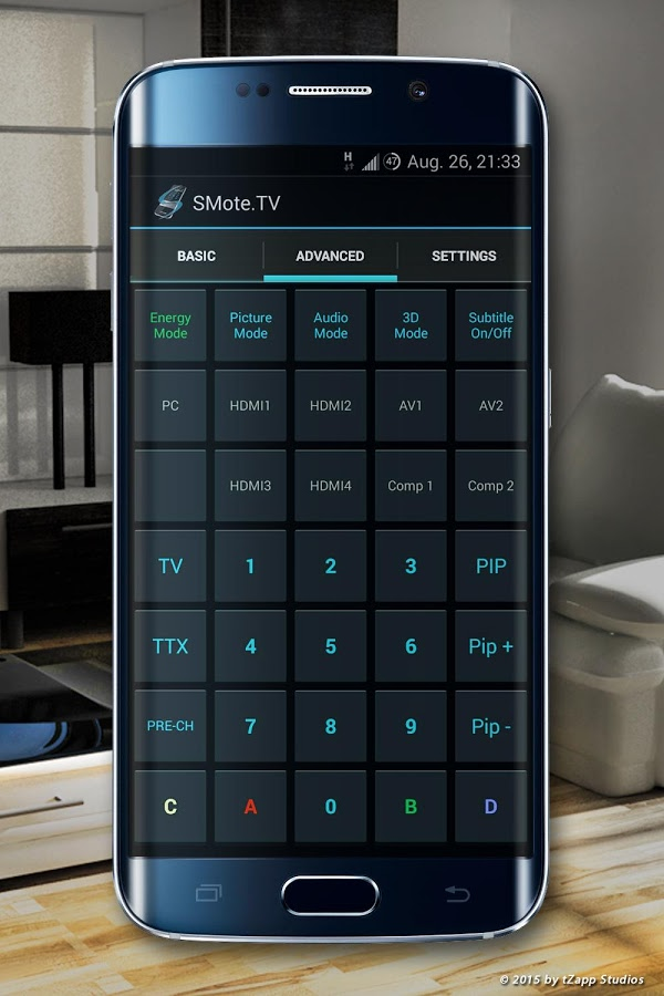 Control TV from Mobile