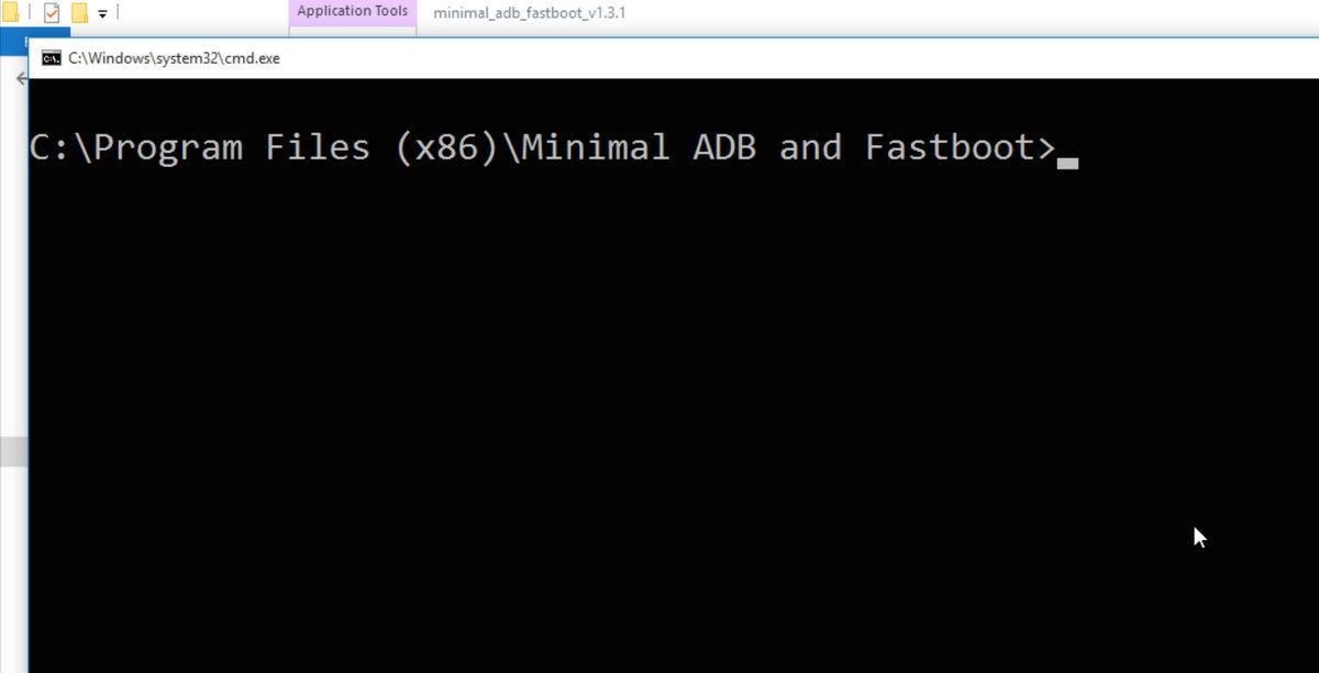 Android ADB in Command Prompt