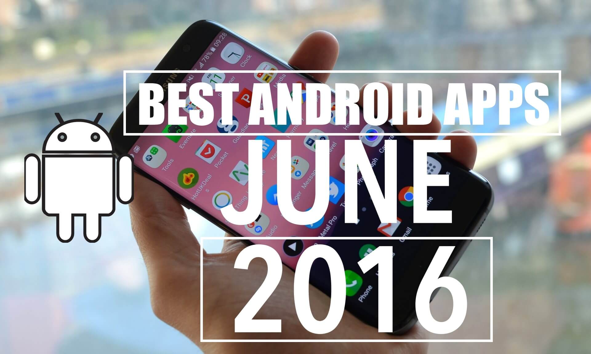 best android apps june 2016