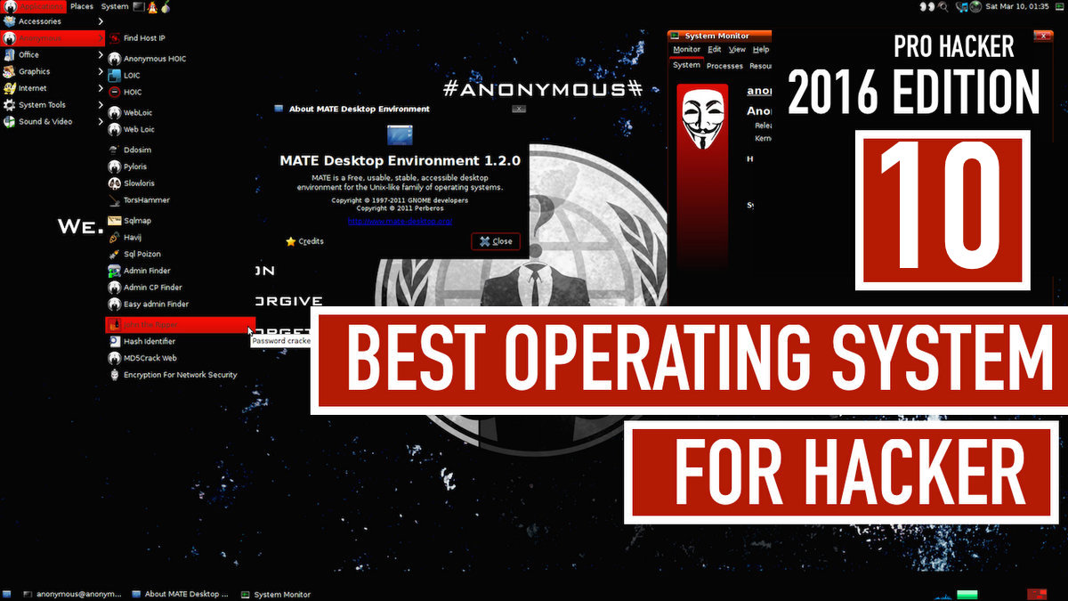 Advice from a Real Hacker : Top 10 Advanced Operating
