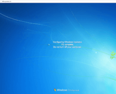 Fake Window 7 Update from PC Browser