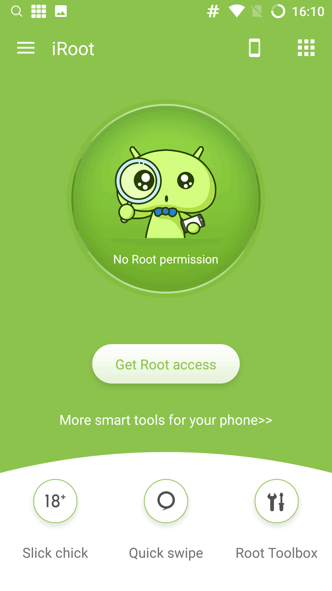 iRoot Android App for Rooting Android Phone