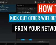 How To Kick Out Other Devices From Your Wifi Network Using Android Mobile