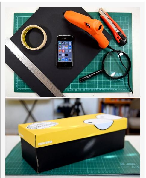 things you will need for making diy projector from smartphone